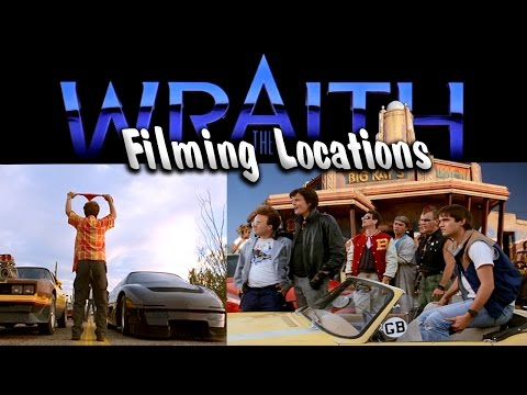 The Wraith Filming Locations  Then and Now