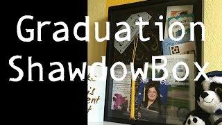 Graduation Shadow Box Tutorial