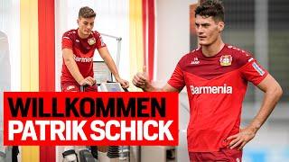 24 Stunden mit Patrik Schick |Sein erster Tag bei Bayer 04 Leverkusen