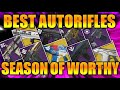 DESTINY 2 | BEST AUTO RIFLES IN PVP FOR SEASON OF WORTHY! : POST HARDLIGHT NERF!!!