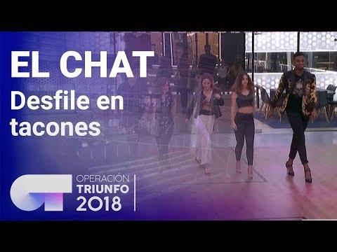 Desfile de tacones | El Chat | Programa 3 | OT 2018