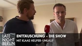 Enttäuschung - die neue Show mit Klaas Heufer-Umlauf | Trailer | Late Night Berlin | ProSieben