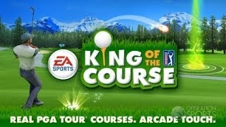 King of the Course Golf - Аркадный гольф на Android ( Review)