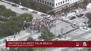 Protests in West Palm Beach