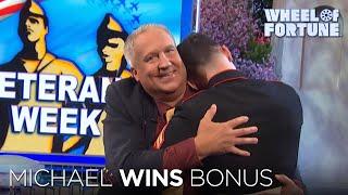 Michael Wins Bonus Round | Wheel of Fortune