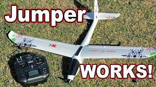 XK A800 Glider & Jumper T12 // Flies Like a Dream! ⛅👍