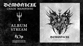 DEMONICAL - Chaos Manifesto (Official Album Stream)