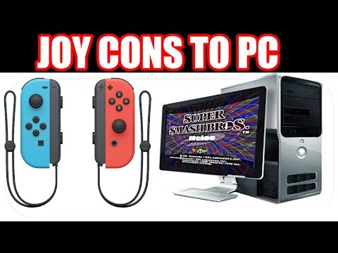 How to CONNECT Your Nintendo Switch JOY-CONS To Your COMPUTER