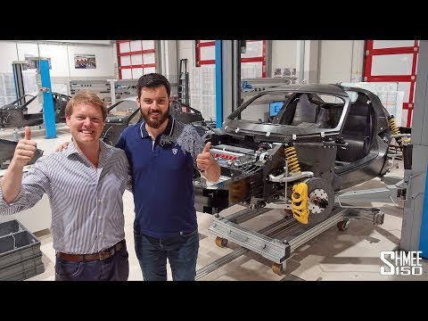 VISITING RIMAC! C_Two Factory Tour with Mate Rimac
