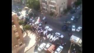 الداخلية فى بورسعيد - مظاهرات بورسعيد ضد الاسائه للنبى