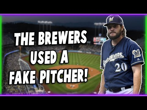 The Brewers Used a Fake Pitcher and It May Have Changed Baseball...