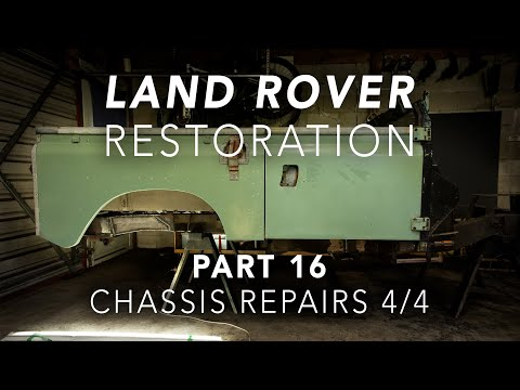 Land Rover Restoration Part 16 – Chassis Repairs 4/4