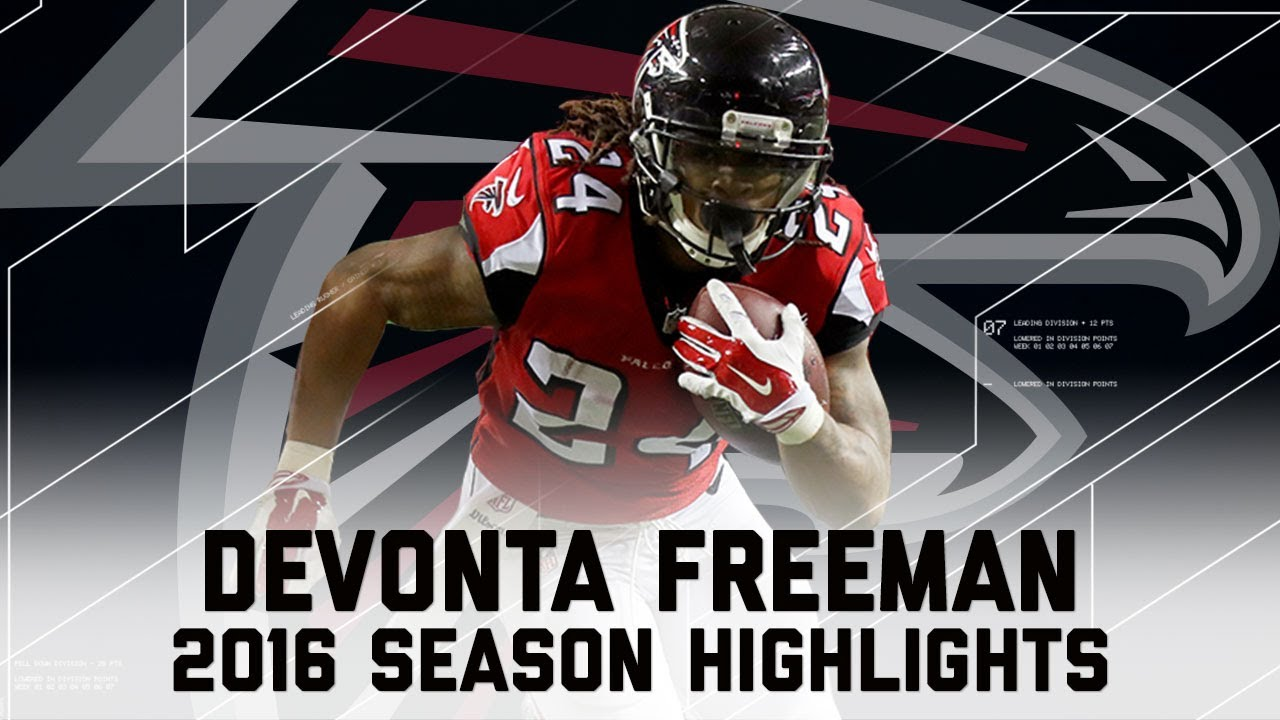 Devonta Freeman s Best Highlights from the 2016 Season