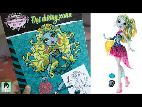 Monster high sticker stylist creations Ami Channel