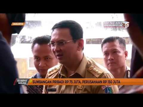 Ahok Soal Dana Kampanye Pilkada DKI