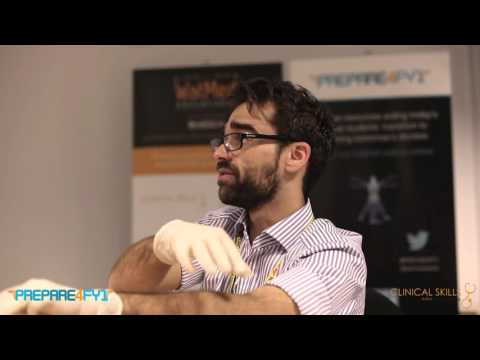 Male Catheterisation Demonstration by PREPARE4FY1®