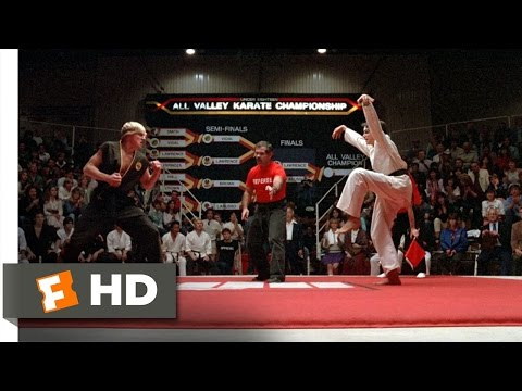 The Crane Kick  The Karate Kid 88 Movie  1984 HD