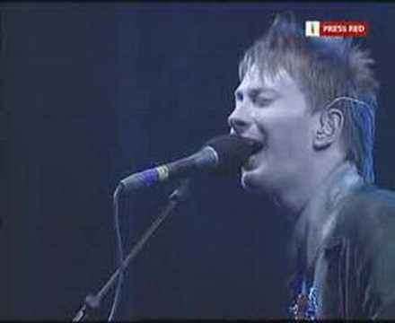 Radiohead Glastonbury 2003-Lucky