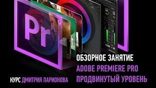 Adobe Premiere Pro. Продвинутый уровень. 2015. Дмитрий Ларионов