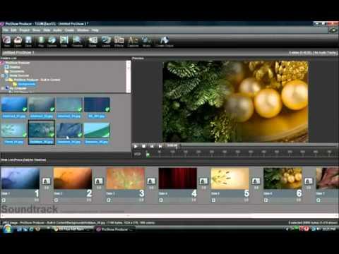 Cách làm Video Clip chất lượng cao từ những tấm ảnh chạy trên đầu đĩa và PC
