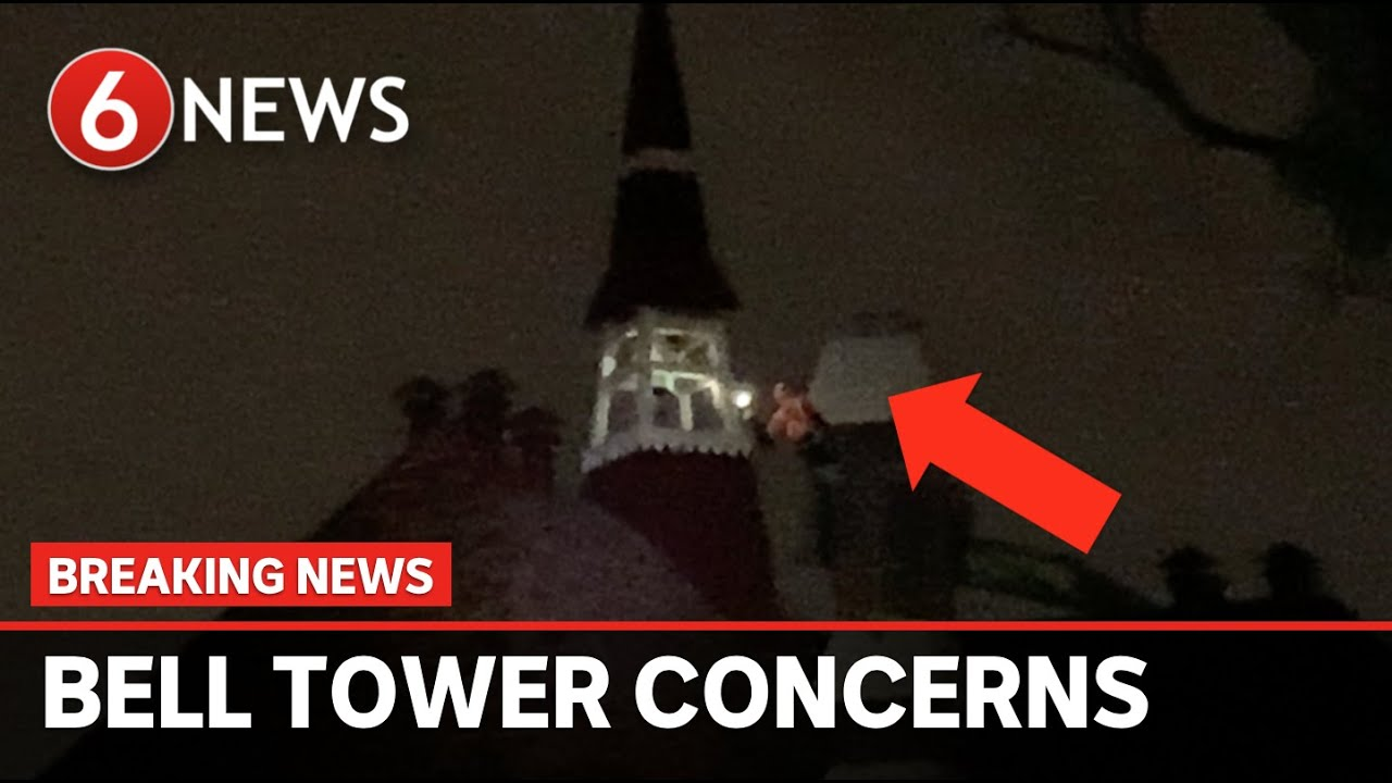 """BREAKING: Historic bell tower """"about to collapse"""""""