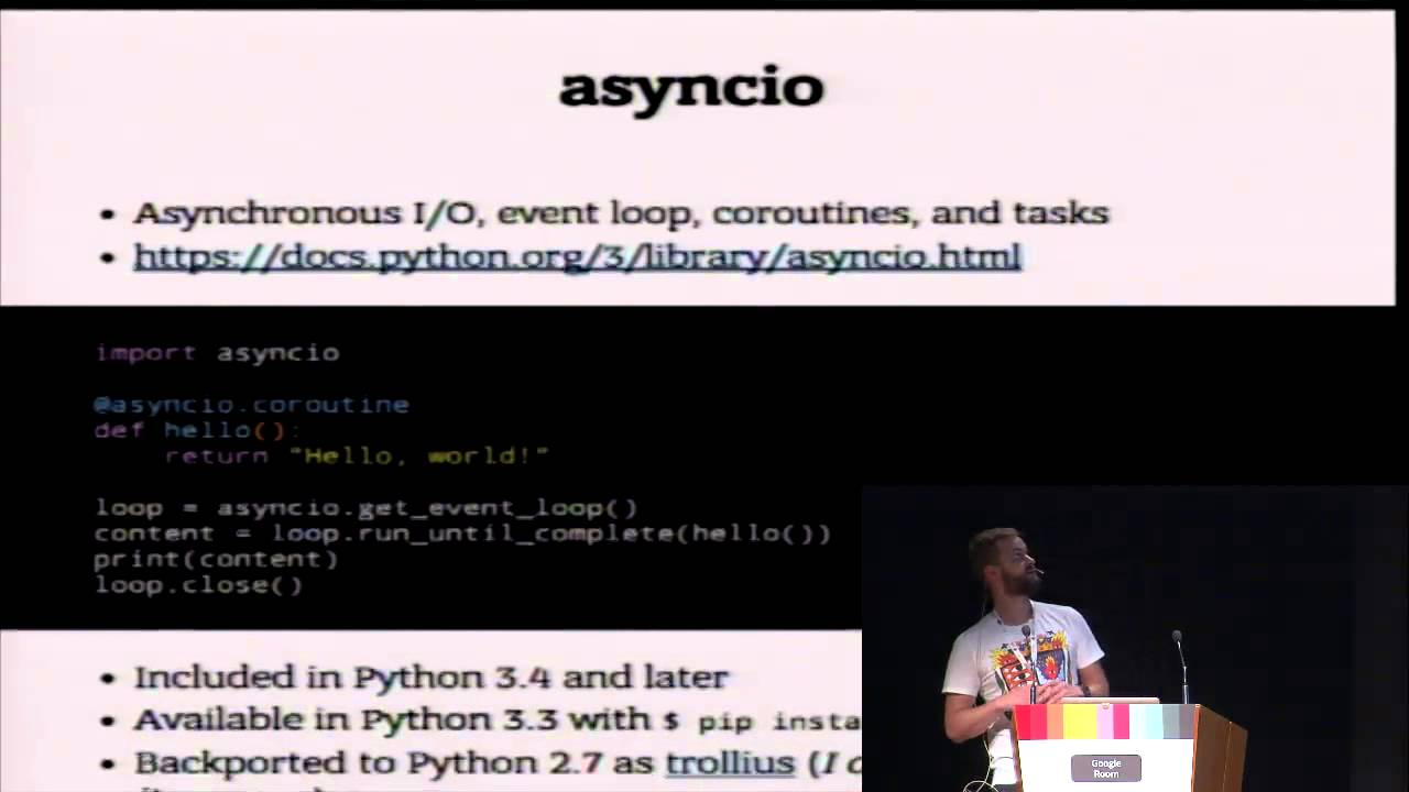 Image from Asyncio Stack & React.js or Development on the Edge