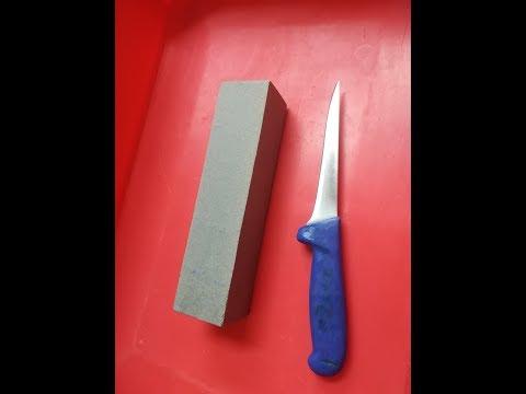 Como Afilar Un Cuchillo Paso A Paso (con Piedra Manual)  El Taller Del Carnicero
