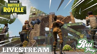 FORTNITE BATTLE ROYALE GRATUITO - LIVESTREAM