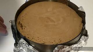 Шоколадный бисквит на Новогодний торт