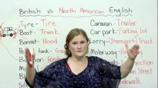 British & American English: Cars & Driving Vocabulary