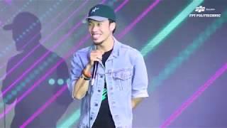 Vô địch giải Beatbox châu Á Trần Thái Sơn biểu diễn tại cuộc thi Mr & Miss Poly 2018