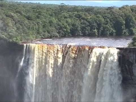 Kaieteur, Guyana. The highest single drop waterfall in the world!