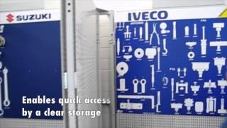 Ww-tss-wfrb-2000-kit - Wing Frame Rack Tool Storage System