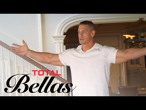 John Cena Gets Overly Excited for New Rug | Total Bellas | E!