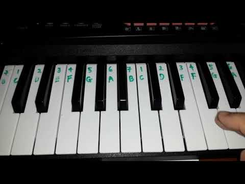 Opick Rapuh - Keyboard / Piano Easy (Part 2)