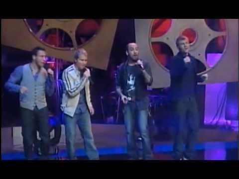 Backstreet Boys - Straight Through My Heart in live (presente do TIAGO pros fâs )2009