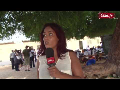 Amel Bent - Interview au Dakar