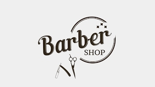 Illustrator Tutorial | Barber Shop Logo Design