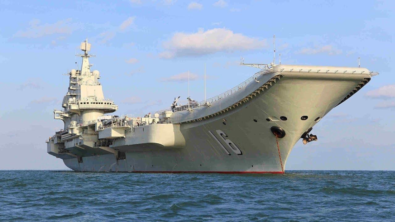 Liaoning, o primeiro porta-aviões da China