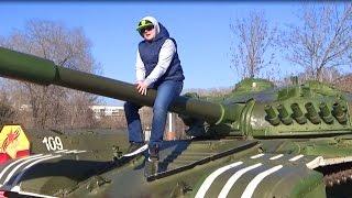 ВЛОГ Выставка ВОЕННОЙ техники !!! ТЕПЕРЬ точно ПОЙДУ в армию !!!