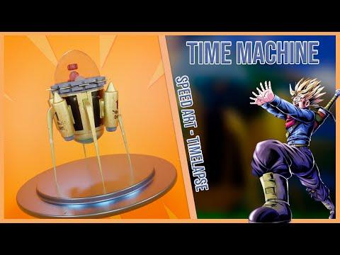 Time Machine - Dragon Ball - SPEEDART
