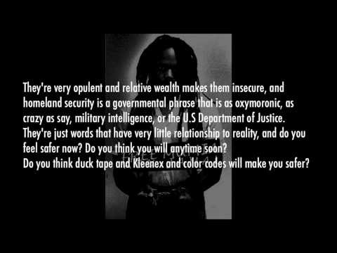 Mumia Abu-Jamal - Homeland & Hip-Hop (Lyrics Video)