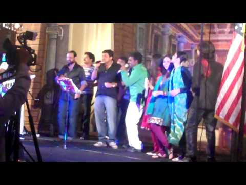 Ouseppachan Sir & Team at FOKANA 2010 (NY)- Final Medley