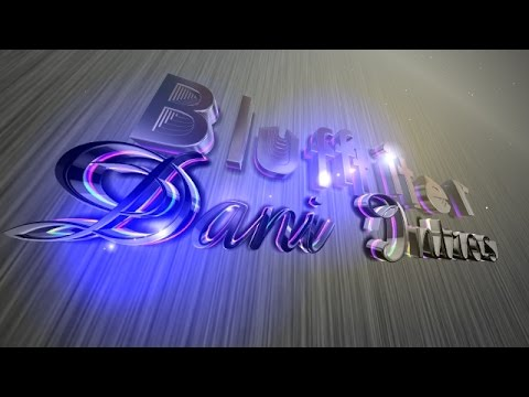 BLUFFTITLER + TEMPLATES + Text effects intro