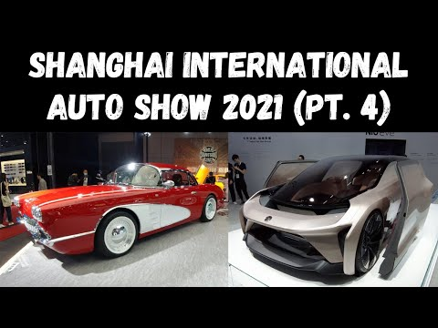 Shanghai International Auto Show 2021 Walkabout (Pt. 4)