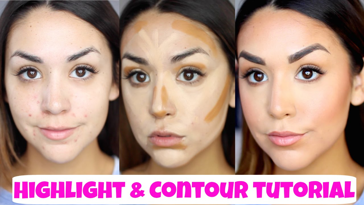 How To Contour & Highlight Using Creams  Natural, Glowing Skin