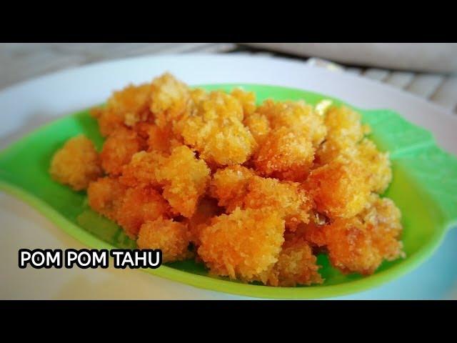 resep cara membuat pom pom tahu krispi - resep untuk jualan    resep jajanan anak sekolah