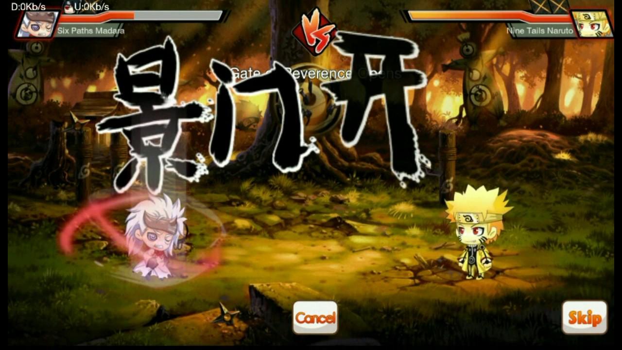 Turtle Island Hard 10-4 Vs Nine Tails Naruto/Naruto Kyuubi Mode Ninja  Heroes/Heroes Legend Reborn