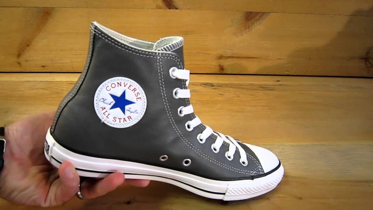 charcoal converse