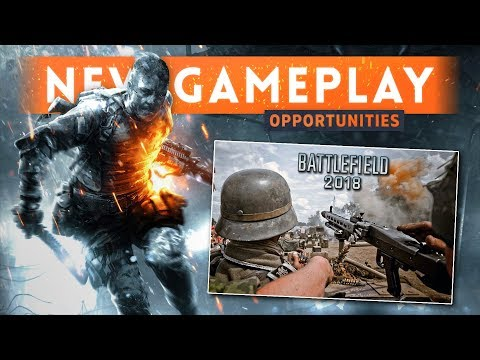 ➤ BATTLEFIELD 2018: October Release Date & New Gameplay Opportunities (Possible Battle Royale Mode?)